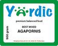Yardic Agapornide zaad 900 gram