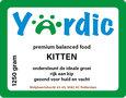 Yardic kittenvoer 1250 gram
