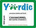 Caviakorrel 1800 gram met extra vitamine C